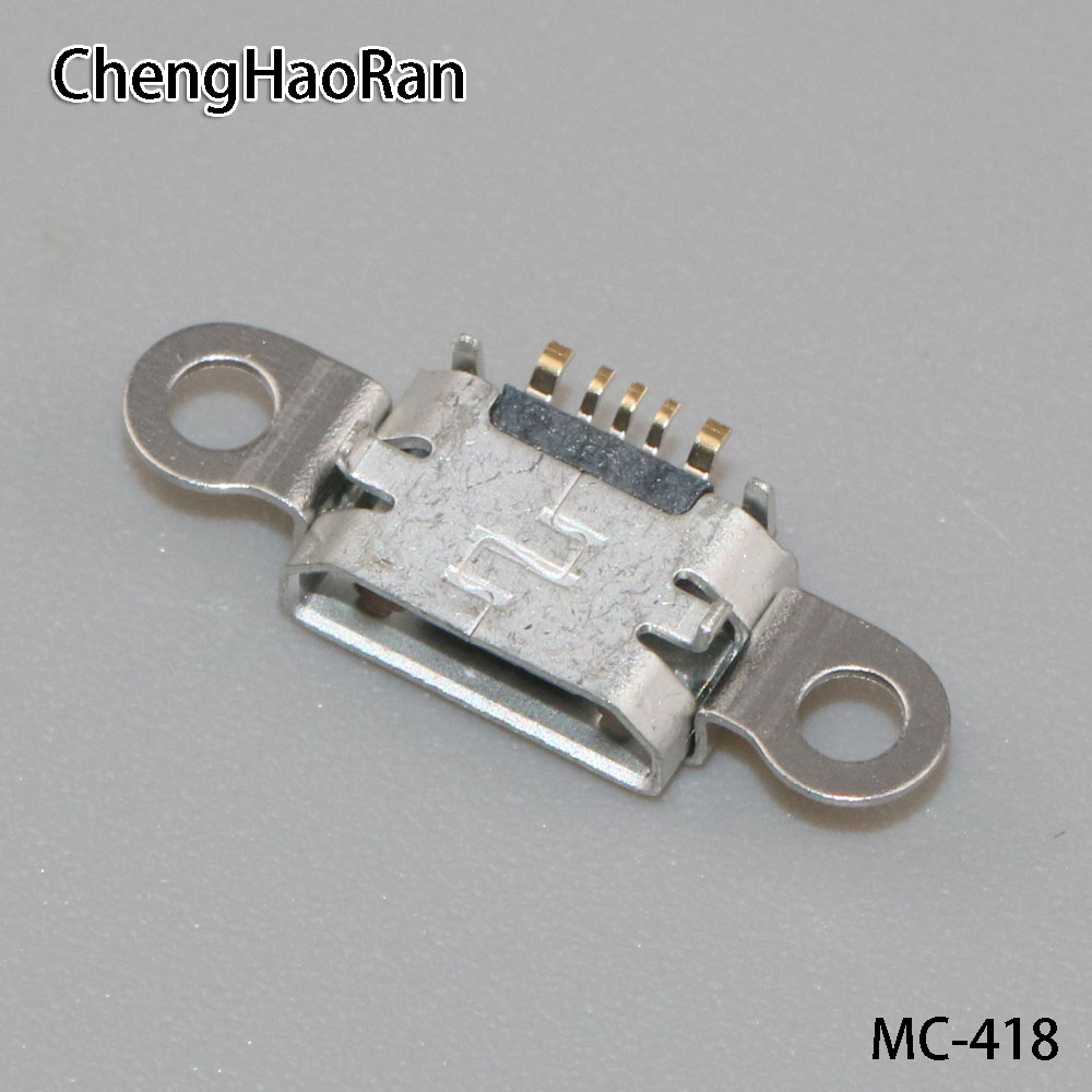 2pcs Micro USB Jack Phone Charging Port Connector USB,socket Interface Replacement Repair Parts Female For BBK For VIVO Y55 Y55A