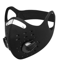 Máscara protetora de carbono ativado anit-fog respirador respirável dustproof pm2.5 máscara circulando ao ar livre correndo esporte máscaras vírus