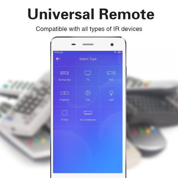 Ewelink APP IR Remote IR-DC666 Remote Control WIFI Universal  Multi-funcation Can not Works with Alexa/Google Home/IFTTT by now