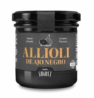 Black Garlic Allioli - Jar 120g