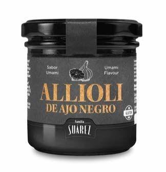 Black Garlic Allioli - Jar 120g