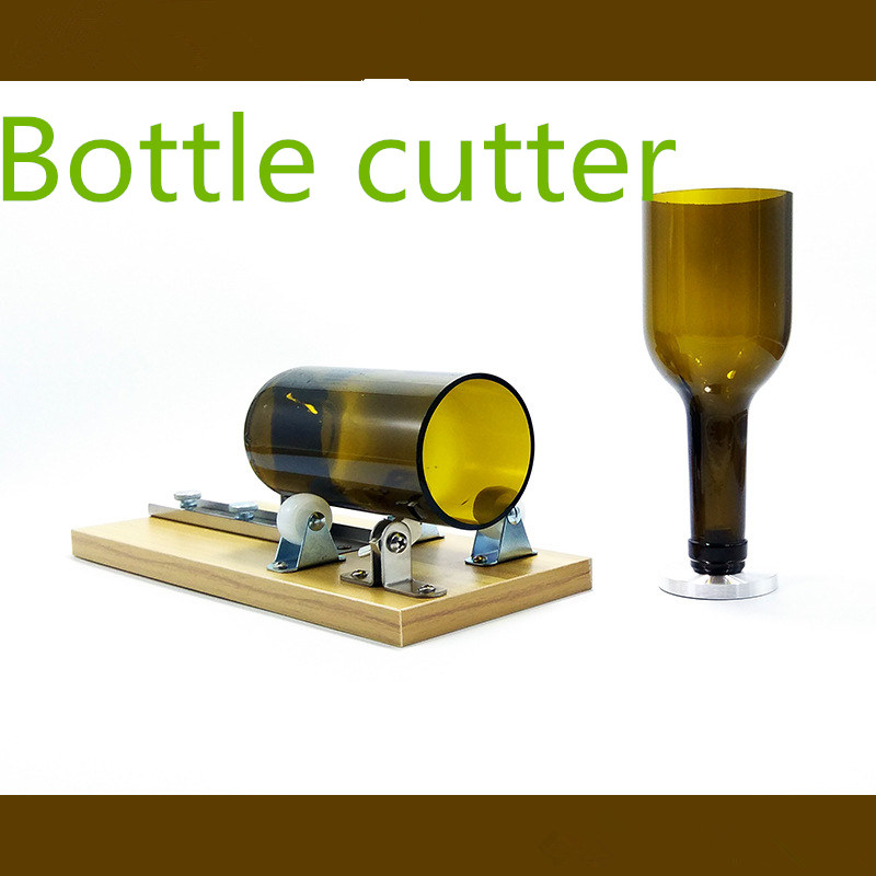 High Strength Hardness Glass Adjustable Wine Bottle Cutter Bottle Cutters For Cutting Machine DIY Craft Recycle Tool