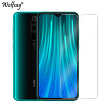 2PCS For Tempered Glass Xiaomi Redmi Note 8 Pro Screen Protector Glass For Xiaomi Redmi Note 8 Pro Phone Glass Film Note 8 Pro makibes toughened glass screen protector film for xiaomi redmi note 2