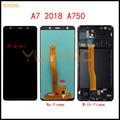 100% проверенный для Samsung Galaxy A7 2018 A750 A750F ЖК-дисплей SM-A750F A750FN A750G сенсорный экран дигитайзер для Samsung A750 LCD