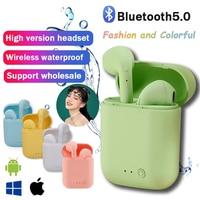 Mini-2 auricolare Wireless cuffie Bluetooth auricolari impermeabili auricolari sportivi per Huawei Iphone OPPO Xiaomi TWS cuffie musicali