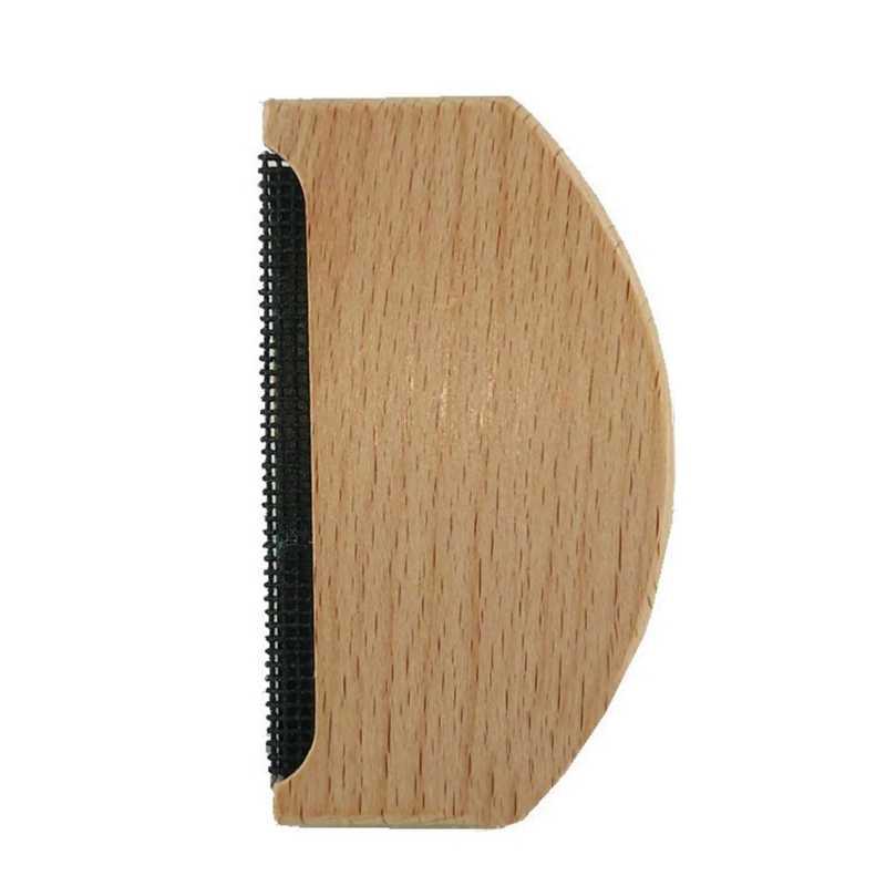 Ręczny drewniany ubiór niemechacące się szczotki sweter łatwy w użyciu użytku domowego usuwanie kłaków tkaniny grzebień łatwe do czyszczenia trymer