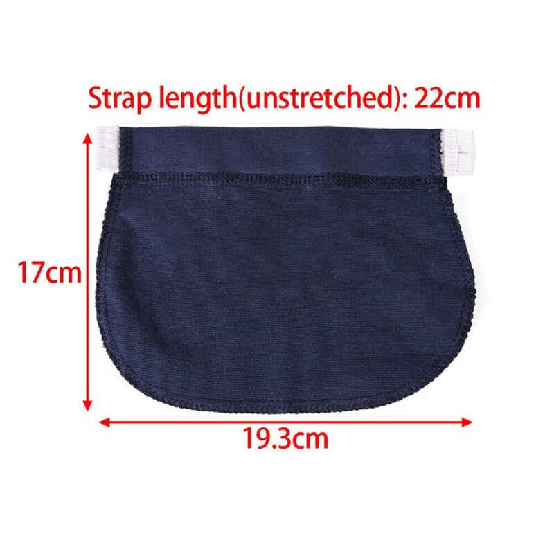 Mujeres embarazadas pantalones cinturón extensión hebilla cintura elástica botón alargar embarazo extendido maternidad extensión hebilla