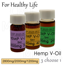New Arrival 5ML Pure Quality 1200-2800mg Hemp essential Oil Positive effective for sleep better mind relaxation and relief pain