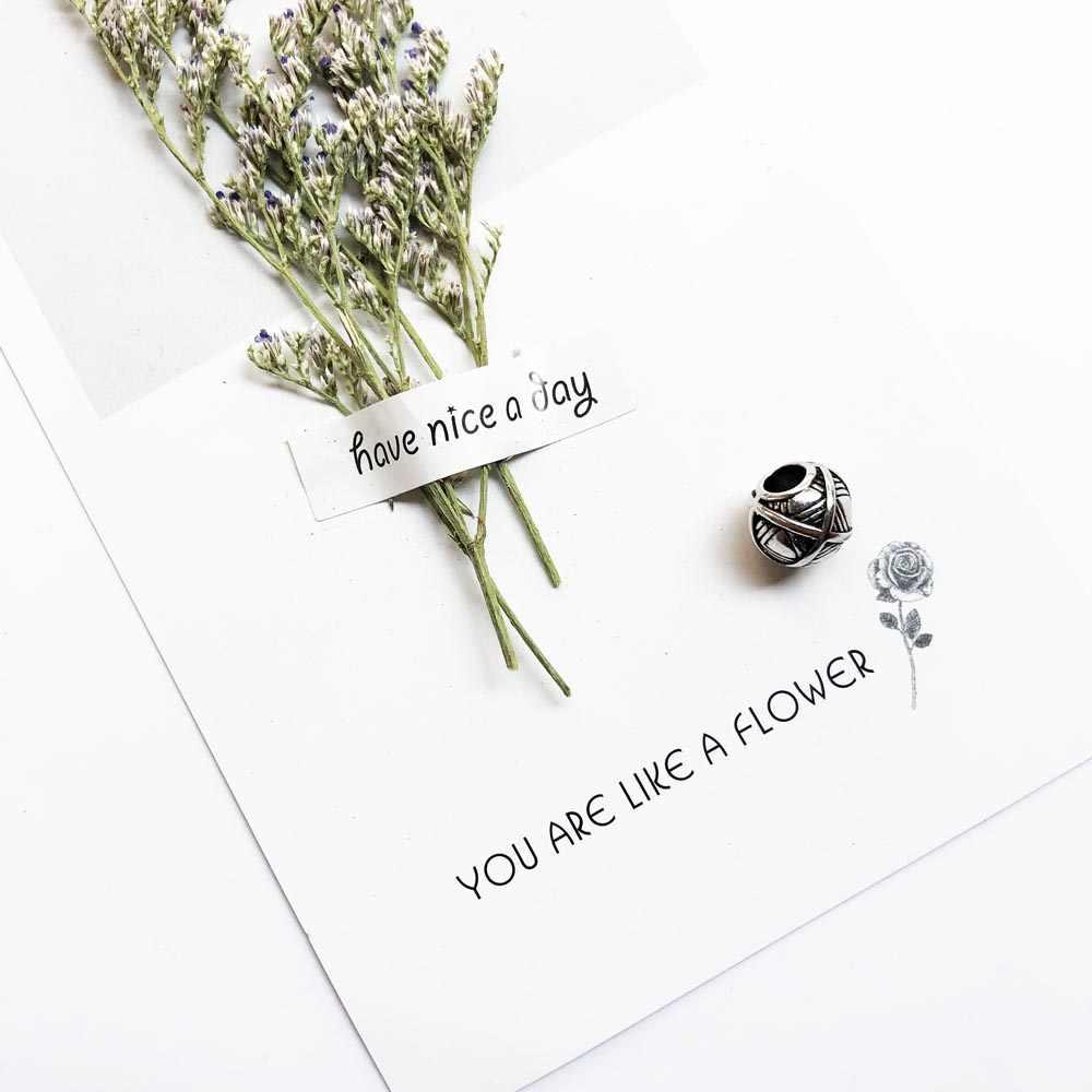 خرز افعلها بنفسك ، موضة 925 فضة مجوهرات هدية عرقية للنساء والرجال أساور مناسبة قلادة المختنق 2019 جديد