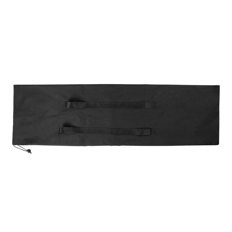 Outdoor Portable Skateboard Carry Bag Black Longboard Backpack Drawstring
