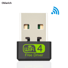 Free Driver Mini USB WiFi Adapter 150Mbps Wi-Fi Adapter WiFi Dongle 2.4G Network Card Antena Wi Fi Receiver For PC USB Ethernet ax200 wifi adapter 5 ghz wifi 6 intel ax200ngw wifi pci antenna wi fi dongle wi fi bluetooth adapter network card pci express