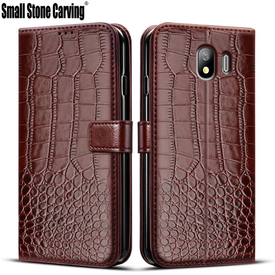 Чехол-книжка для Samsung Galaxy J4 2018, кожаный магнитный чехол для Samsung Galaxy J4, J400, чехол для телефона Galaxy J4, J400F, чехол