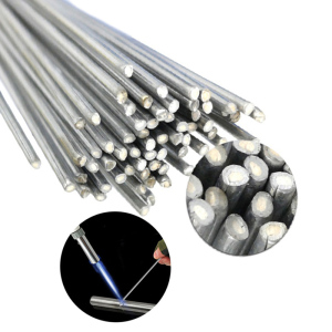 Easy Melt Welding Rods 2mm Rod Aluminium Flux Cored Weld Wire Welding Electrodes for Aluminum Soldering Welding Low Temperature