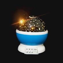 Проектор неба звезда луна галактика ночник для детей декор детской