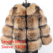 Women's Fur Coat Winter Jacket Natural Genuine Fox Fur Coat Women Short Section Warm Thick Real Fox Fur Slim Female Coat 2020