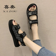 2020 Mujer Luxe Sandals Women Shoes Summer Platform Fashion