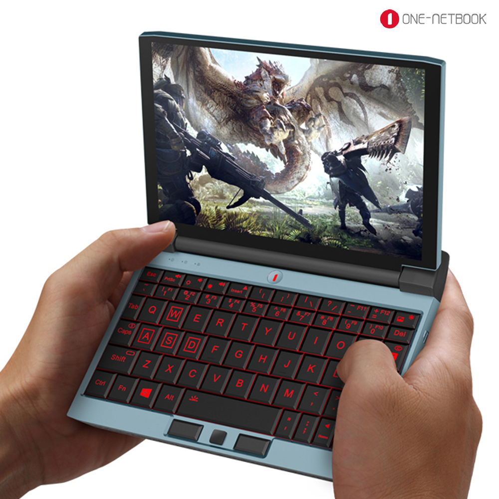 Japan Sales champion 4G LTE FDD OneNetbook OneGx1 Game Laptop 12000mAH Laptop 7'' Win10 i5-10210Y 8GB/16GB DDR3 256GB/512GB SSD