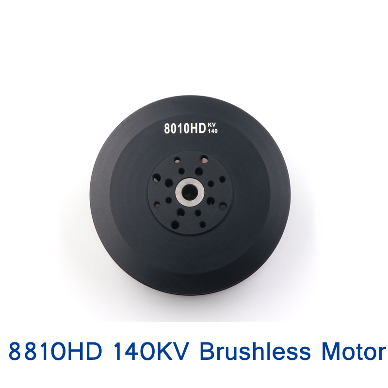 1PC 8810HD 140KV Motor High Power Multi-rotor Disc-shape Brushless 10-12S Lipo 100A ESC for RC Plant Agriculture UAV Drone image