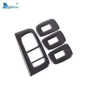 Image 5 - FLUGGESCHWINDIGKEIT für VOLVO XC60 S60 V60 Zubehör 2018 2019 2020 Carbon Faser Auto Tür Fenster Switch Panel Cover Aufkleber Innen trim