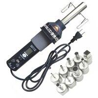Eua plug  450 w 450 graus de calor eletrônico ajustável ferramenta ar quente 8018lcd desoldering estação de solda + aquecedor|Pistola ar quente| |  -