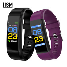 115Plus Smart Bracelet Waterproof Smart Watch Heart Rate Blood Pressure Sleep Monitor Activity Tracker Smart Bracelets Wristband c9 smart wristband watches blood pressure activity tracker heart rate monitor relogio cardiaco smart bracelet waterproof