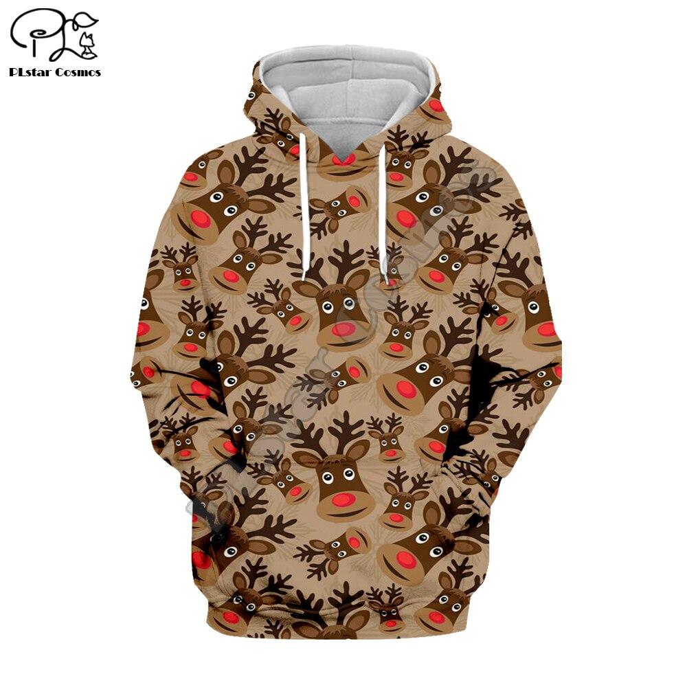 PLstar Cosmos Christmas Santa Claus Colorful Kawaii 3DPrint Hoodie/Sweatshirt/Jacket/shirts Mens Womens Tracksuit Casual Style14