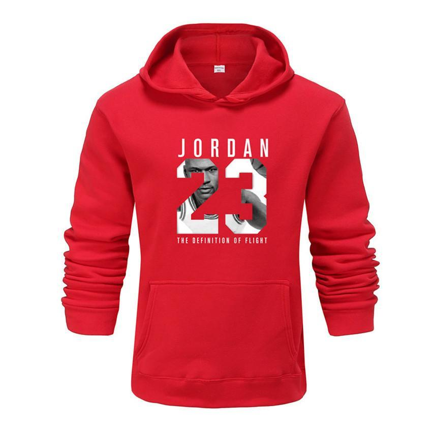 2019 Brand Tracksuit Fashion JORDAN 23 Print Men Sportswear Pullover Two Sets Leisure Fleece hoodies +Pants Sporting Suit Male  (20)