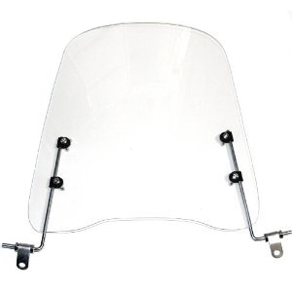 a Prueba de fr/ío y Altamente Transparente Placa de PC para Motocicletas Veh/ículos el/éctricos Parabrisas Universal Inastillable A Prueba de Viento