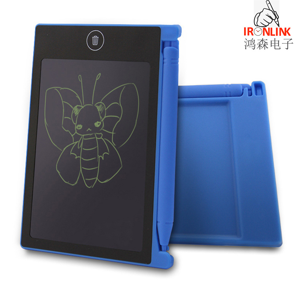 CHILDREN'S Toy Mini 4.5-Inch LCD Blackboard Writing Board Electronic Drawing Board Children Graffiti Painted