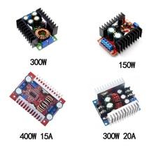 DC-DC Power Supply Step-Up Step Down Module 150W 6A/300W 9A/300W 20A/400W 15A Adjustable Power Supply Module Voltage Regulator