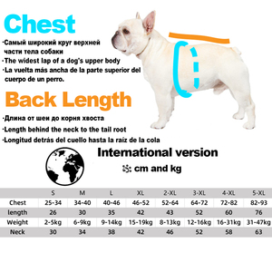 Image 5 - Luxury Winter Small Dog Clothes For Small Large Dogs French Bulldog Clothes Clothing For Dogs Coat The Dog Face Jacket Chihuahua