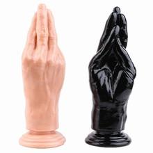 Grande pênis punho anal plug enorme vibrador butt plug silicone g local masturbar brinquedos sexuais para mulher sucção ânus grande recheado sexy loja