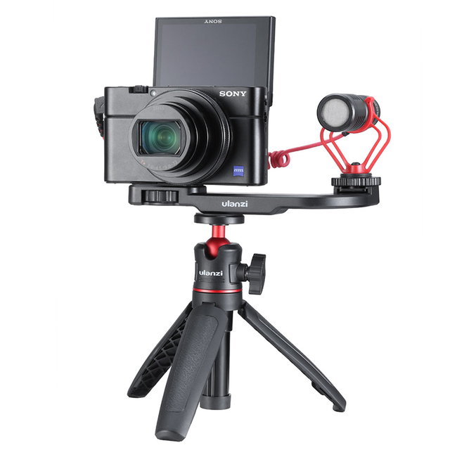 Smartphone Mount Plate for Gopro DSLR Sony A6400 Camera