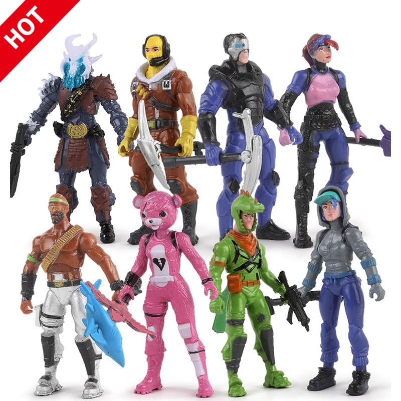 Jedi Survival Battle Royale Garage Kit Model Doll Fortnites 4.5-Inch Figure Wilderness Figurine Decoration Toy
