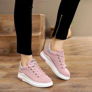 Image 5 - Fujin marca 2020 otoño zapatos de mujer Zapatillas suaves cómodos zapatos casuales moda señora Flats zapatos femeninos para mujeres PU