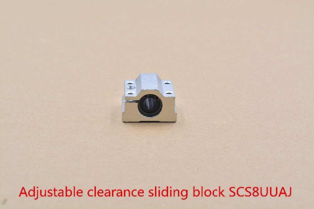 Rodamiento SCS8UU bloque de deslizamiento lineal de 8mm con LM8UU para eje