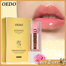 Rose Peptide nourrissant coloré baume à lèvres Anti-âge antigel Anti-gerçure maquillage visage soins de la peau réparation dommages lèvres crème humide