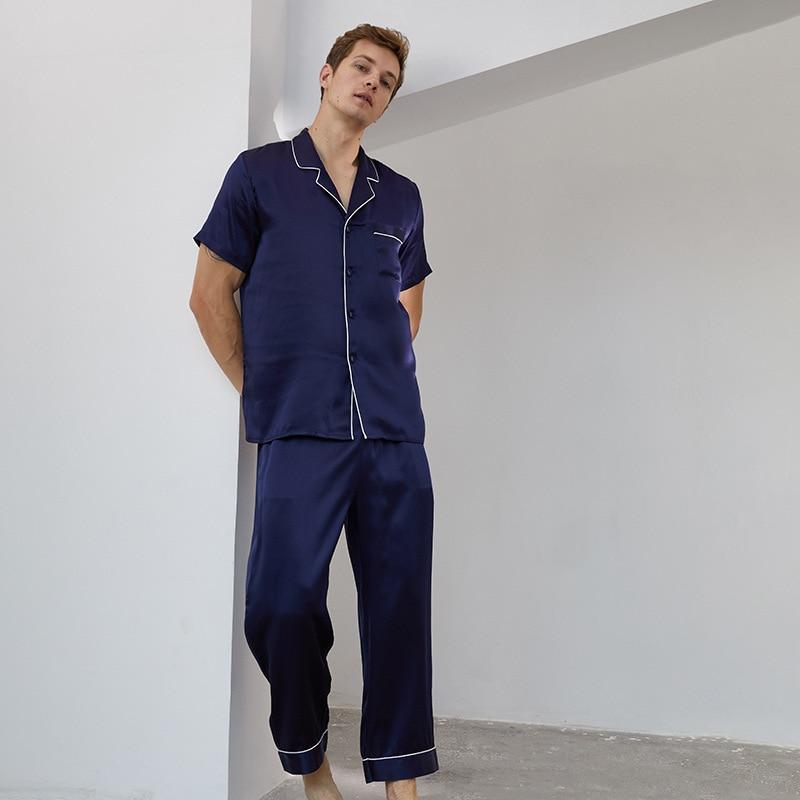 Men's Short Sleeve Shirt Trousers Set