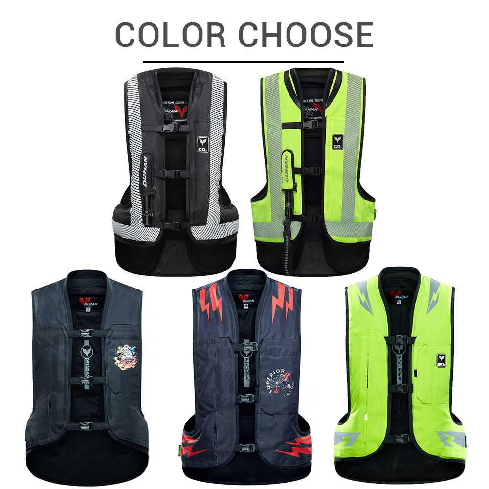 DUHAN Moto gilet Airbag Moto gilet Airbag système de protection équipement réfléchissant Moto Airbag Moto gilet