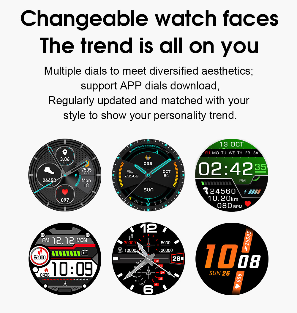 H399608a2228c4d22a2652ea0f751e338U Timewolf IP68 Smart Watch Men Android 2020 Full Touch Smartwatch Men Women Smart Watch For Huawei Xiaomi Apple IOS Android Phone