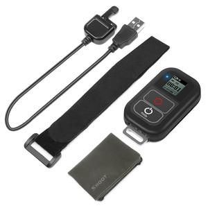 Image 5 - SHOOT جهاز تحكم عن بعد WiFi لكاميرا GoPro ، حامل جهاز تحكم عن بعد لـ GoPro 8 7 6 5 ، مقاوم للماء ، أسود ، ملحقات