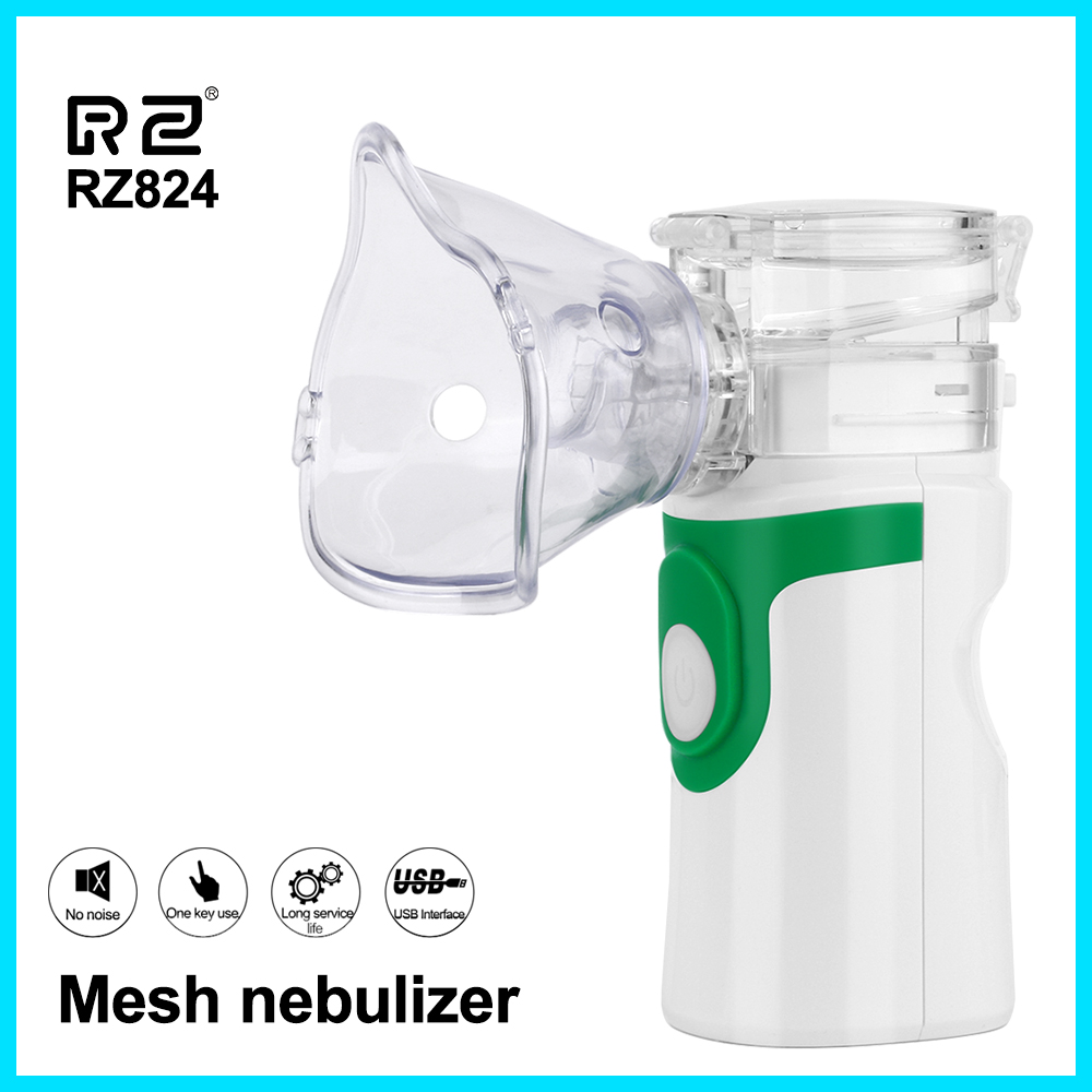 Health Care Handheld Portable Inhale Nebulizer Silent Ultrasonic  Children Adult Rechargeable Automizer Medical Equipment YM 252Steaming  Devices