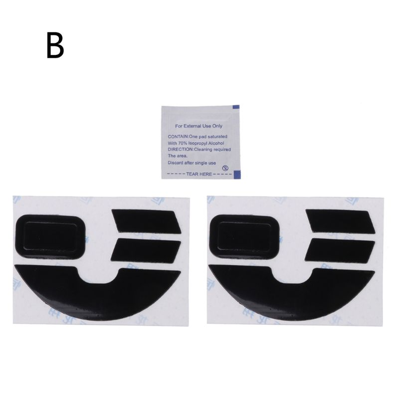 2 Sets 0.6mm Teflon Mouse Skates Mouse Stickers Pad For Razer Lancehead Mouse