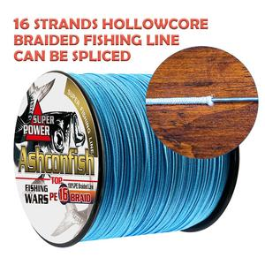 Image 2 - hollowcore braided line fishing 1000M saltwater 20 500LB super japan multifilament pe fishing cord heavy strength 0.16mm 2.0mm