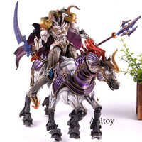 Play Arts Final Fantasy Figure Odin Ancient God Odin Action Figure PVC Collectible Model Toy