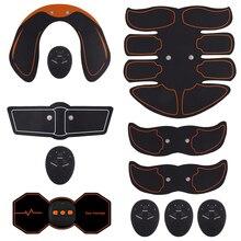 Estimuladores eléctricos masaje prensa entrenador Ejercitador de músculos abdominales vientre pierna Ejercicio de brazos entrenamiento casa equipo de Fitness