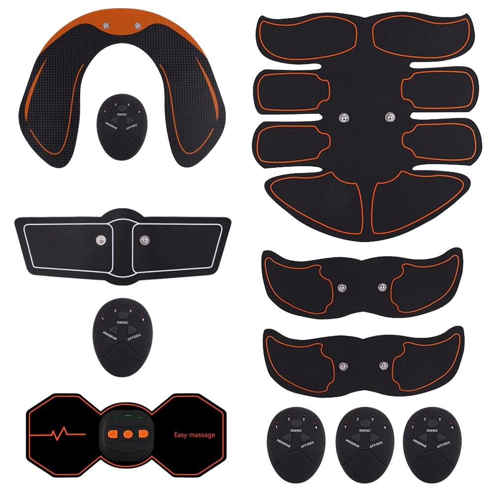 Elektrische Simulatoren Massage Drücken Trainer Bauch Muscle Exerciser Bauch Bein Arm Übung Workout Home Fitness Ausrüstung