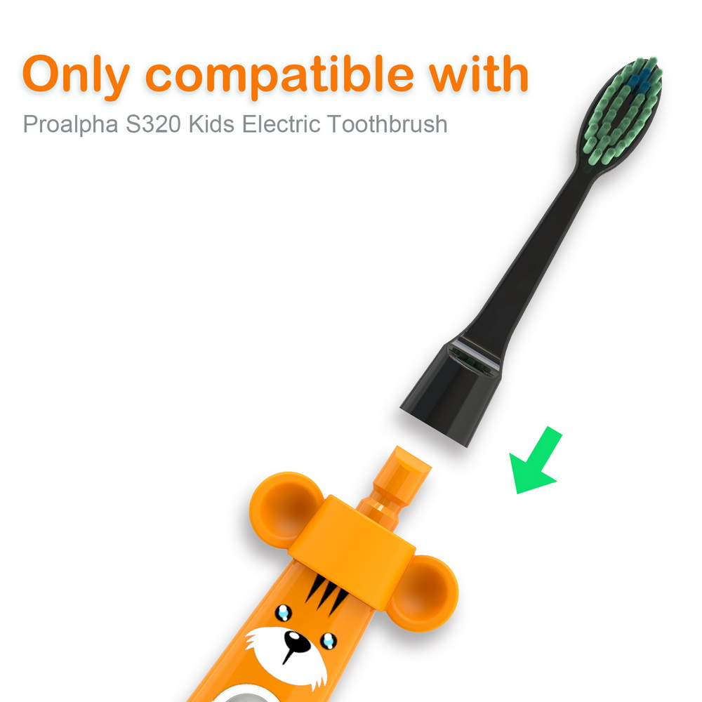 Proalpha Dental Children's electric toothbrush Automatic Ultrasonic Mini Tooth Brush head Teeth Cleaning For kid Teeth whitening