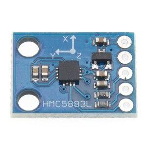 Image 3 - 50 Stks/partij GY 273 GY273 HMC5883L Module Triple Axis Kompas Magnetometer Sensor 3 V 5 V Gratis Verzending