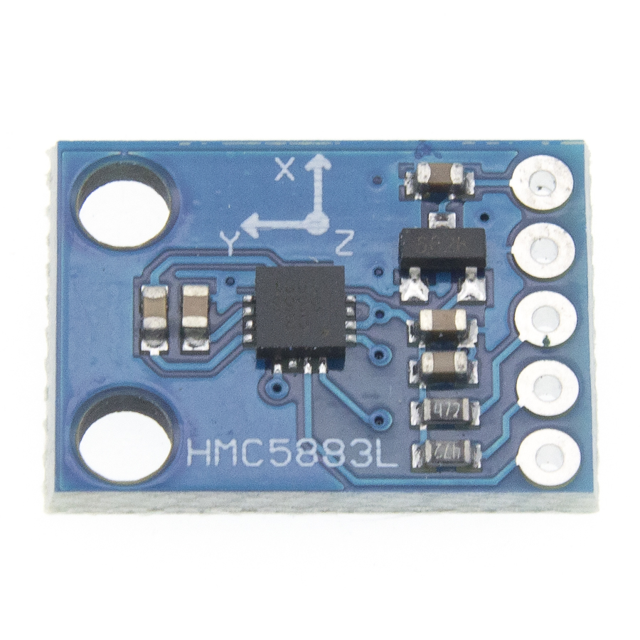 Image 3 - 50pcs/lot GY 273 GY273 HMC5883L Module Triple Axis Compass Magnetometer Sensor 3V 5V Free shipping-in Integrated Circuits from Electronic Components & Supplies